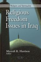 Religious freedom issues in Iraq /