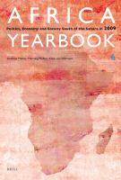 Africa yearbook 6 : politics, economy and society south of the Sahara 2009 /