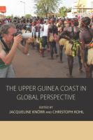 The Upper Guinea Coast in Global Perspective /