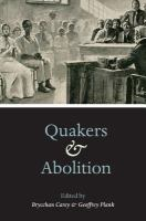 Quakers and abolition /