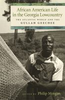 African American life in the Georgia lowcountry : the Atlantic world and the Gullah Geechee /