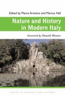 Nature and history in modern Italy /