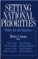 Setting national priorities : policy for the nineties /
