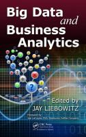 Big data and business analytics /