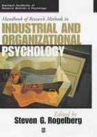 Handbook of research methods in industrial and organizational psychology /