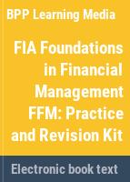 Foundations in accountancy. for exams in December 2017 and June 2018.