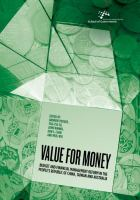 Value for money : budget and financial management reform in the People's Republic of China, Taiwan and Australia /