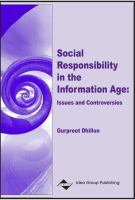 Social responsibility in the information age : issues and controversies /