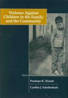 Violence against children in the family and the community /