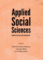Applied social sciences : administration and management /