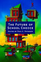 The future of school choice /