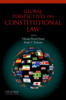 Global perspectives on constitutional law /