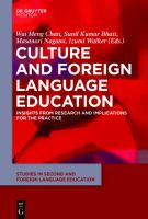 Culture and foreign language education : insights from research and implications for the practice /