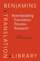Reembedding translation process research /