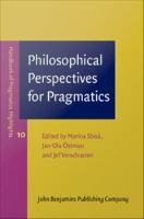 Philosophical perspectives for pragmatics /