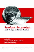 Semiotic encounters : text, image and trans-nation /