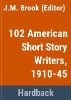 American short-story writers, 1910-1945.