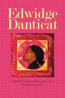 Edwidge Danticat : a reader's guide /