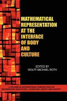 Mathematical representation at the interface of body and culture /