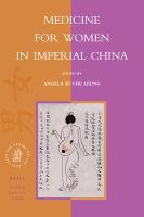 Medicine for women in imperial China /
