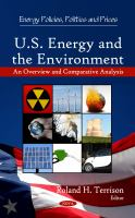 U.S. energy and the environment : an overview and comparative analysis /