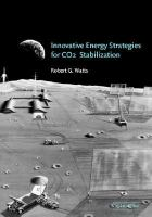 Innovative energy strategies for CO₂ stabilization /