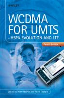 WCDMA for UMTS : HSPA evolution and LTE /