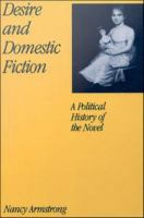 Desire and domestic fiction : a political history of the novel /