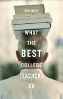 What the best college teachers do /
