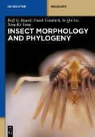 Insect morphology and phylogeny : a textbook for students of entomology /