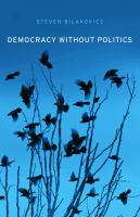 Democracy without politics /