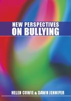 New perspectives on bullying /