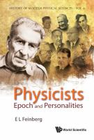 Physicists epoch and personalities /