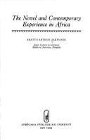 The novel and contemporary experience in Africa /