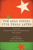 The Arab Spring five years later.
