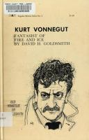 Kurt Vonnegut, fantasist of fire and ice /
