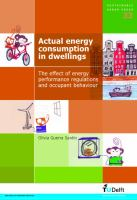 Actual energy consumption in dwellings the effect of energy performance regulations and occupant behaviour /