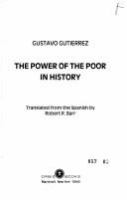 The power of the poor in history /