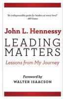 Leading matters : lessons from my journey /