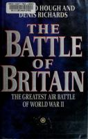 The Battle of Britain : the greatest air battle of World War II /