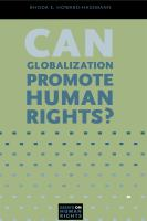 Can globalization promote human rights? /