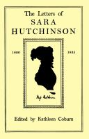 The letters of Sara Hutchinson from 1800 to 1835 /