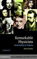 Remarkable physicists : from Galileo to Yukawa /
