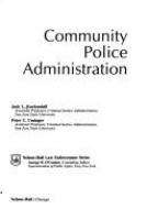 Community police administration /