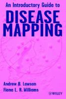 An introductory guide to disease mapping /