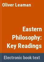 Eastern philosophy: key readings /