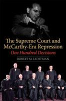 The Supreme Court and McCarthy-era repression : one hundred decisions /