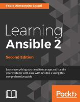 Learning ansible 2.