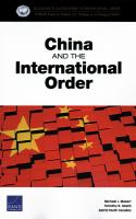 China and the international order /
