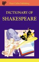 Dictionary of Shakespeare